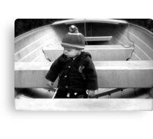 The Little Captain Canvas Print