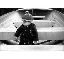 The Little Captain Photographic Print