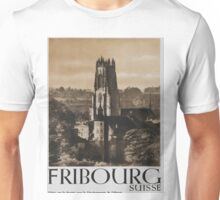 Vintage poster - Fribourg Unisex T-Shirt