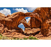 Double Arch Photographic Print