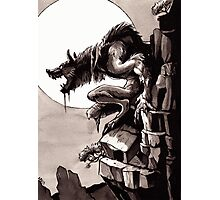 Crag Werewolf Photographic Print