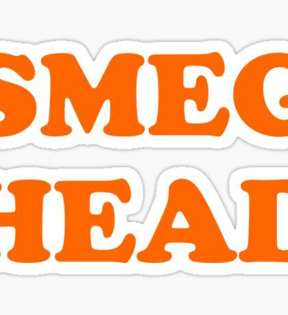 Red Dwarf Smeg Head Sticker