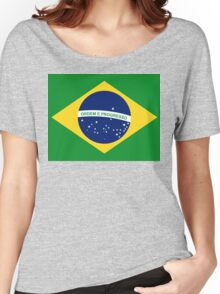 Brasil Flag Women's Relaxed Fit T-Shirt