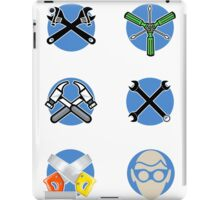 Tool chest stickers #1 iPad Case/Skin