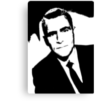 Rod Serling The Writer Canvas Print