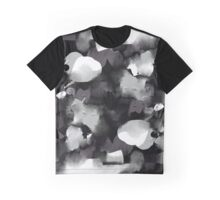 Raw Paint 2 - Black and White Graphic T-Shirt