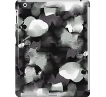 Raw Paint 2 - Black and White iPad Case/Skin