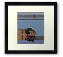 (2) Shirley Bennet - Poster Series Framed Print