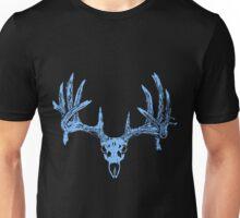 Deer Skull blue Unisex T-Shirt