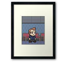 (3) Jeff Winger - Poster Series Framed Print