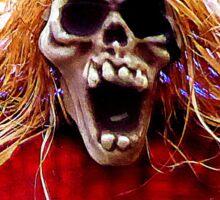 Scary.............................Halloween 2016 Sticker