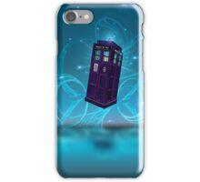 Midnight Sakura Dr Who Digital Art iPhone Case/Skin