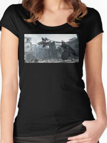High Profile Assassination Women's Fitted Scoop T-Shirt