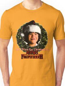 Stranger Things Christmas (Dustin Wants) Unisex T-Shirt