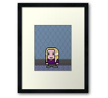 (7) Britta Perry - Poster Series Framed Print