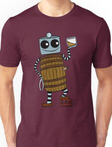 Whiskey Barrel Bot Unisex T-Shirt