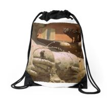 Italian sculpture Drawstring Bag