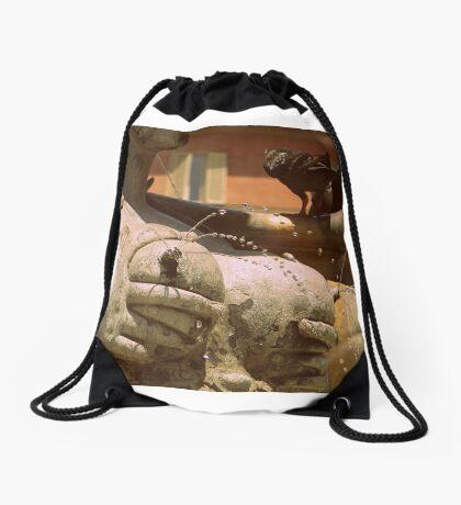 Italian sculpture Drawstring Bag