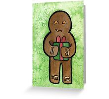Gingerbread Gift Greeting Card