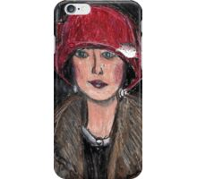 The Red Hat 1920's #1 in a Series iPhone Case/Skin