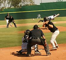 Hit or Strrrrrrike! Cerritos Baseball; USA by leih2008