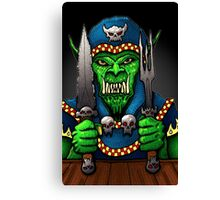 Hungry Like the Worg Canvas Print
