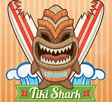 Tiki Shark by justacramp