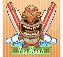 Tiki Shark Photographic Print
