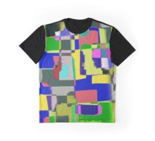 Raw Paint 3 - Abstract Colour Graphic T-Shirt