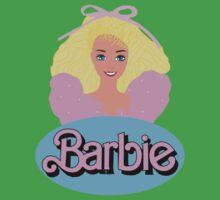 Barbie- Old Logo One Piece - Short Sleeve