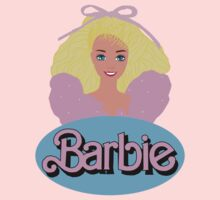 Barbie- Old Logo One Piece - Short Sleeve
