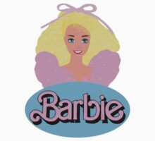 Barbie- Old Logo Kids Clothes