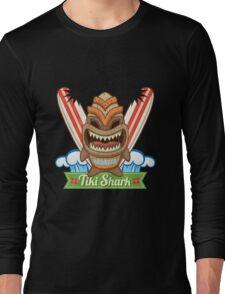 Tiki Shark Long Sleeve T-Shirt