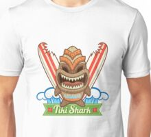 Tiki Shark Unisex T-Shirt