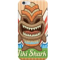 Tiki Shark iPhone Case/Skin