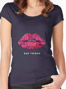 Bad Things Art 4 Women's Fitted Scoop T-Shirt