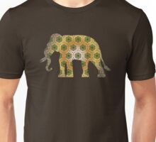 Elephant Psychedelic Animal Lover Nature Hippie Cool Wild Life Illustration Design T-Shirts Unisex T-Shirt