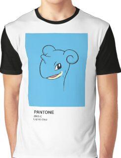 Lapras Pantone Graphic T-Shirt