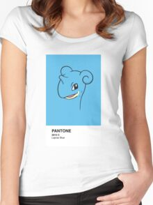 Lapras Pantone Women's Fitted Scoop T-Shirt