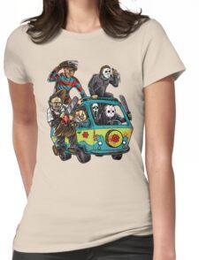 The Massacre Machine Horror Womens Fitted T-Shirt