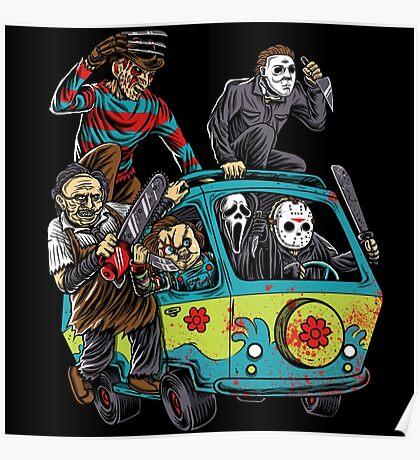 The Massacre Machine Horror Poster
