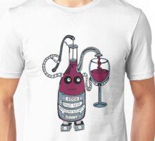 Wine Bot Unisex T-Shirt