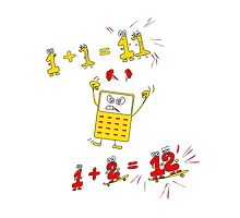 Drive the Calculator Nuts 1 by Gwynith Lee