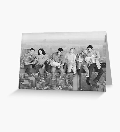 'friends' black & white Greeting Card