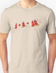 Drive the Calculator Nuts 3 Unisex T-Shirt