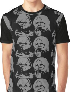 CHUCKY AND TIFFANY  Graphic T-Shirt