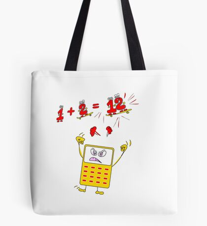 Drive the Calculator Nuts 2 Tote Bag