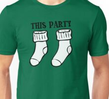 Cool Funny House Party Best Firend Socks Sucks Disco Night Out Concert Music Dance T-Shirts Unisex T-Shirt