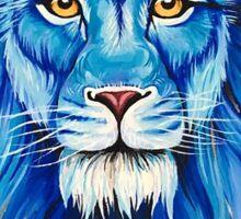 King in Blue Sticker