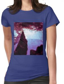 Somewhere in the Flux of Time Womens Fitted T-Shirt